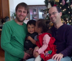 matt and Brandon family pic