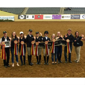 Local Equestrian Team Named Reserve Champion At National