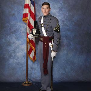 Fishburne Military School Cadet Joseph Presley Thomas Jones