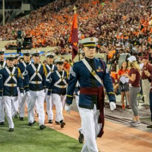 Virginia Tech cadet Brett Smith