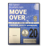 vehicle inspection sticker