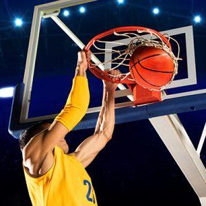 men basketball dunk