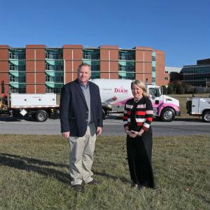 Dixie Pink Trucks Augusta Health