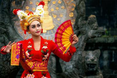 Balinese dancing