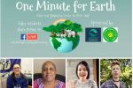 one minute for earth