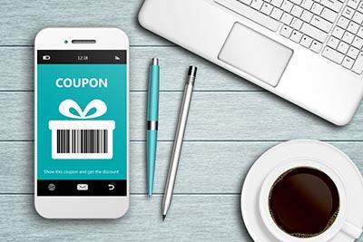 phone coupon laptop