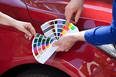 car auto paint business