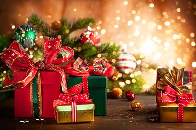 christmas gift box tree