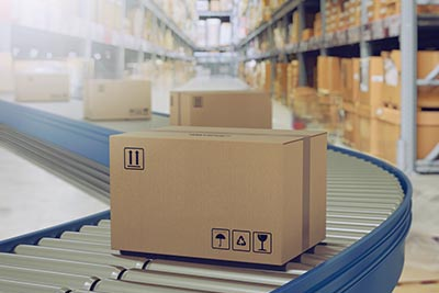shipping business box production